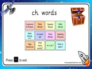 ch phonics powerpoint