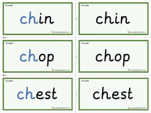 ch word cards