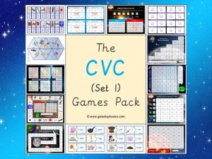 cvc phonics games pack
