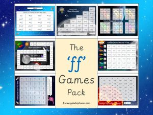 ff phonics games pack