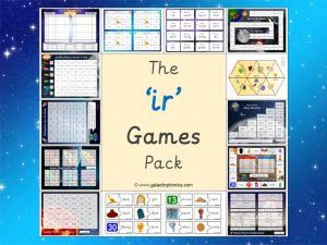 ir phonics games pack