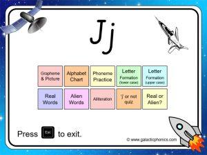 letter sounds j phonics powerpoint