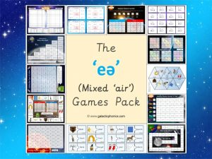 mixed air phonics games pack