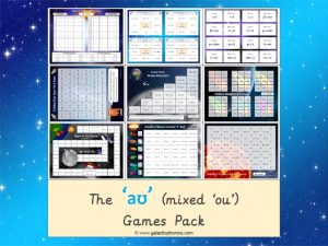 mixed ou phonics games pack