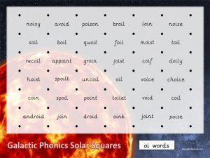 solar squares phonics game
