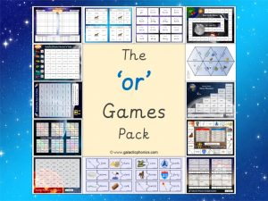 or phonics games pack