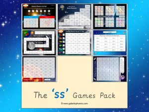 ss phonics games pack
