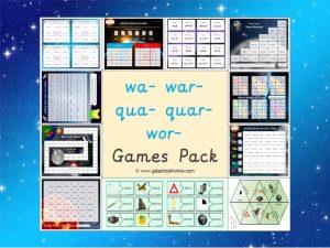 wa war qua quar wor games