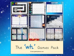 wh phonics games pack