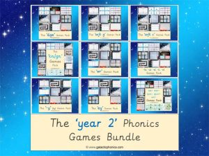 Year 2 Phonics Games Bundle