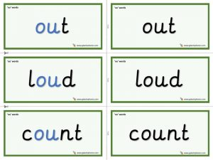 ou word cards