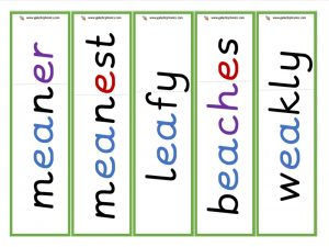 other ea root word cards