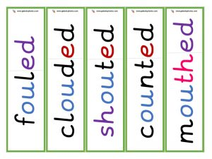 ou root word cards (ed)