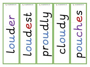 ou root word cards (other)