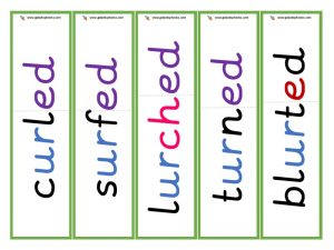 ur root word cards (ed)