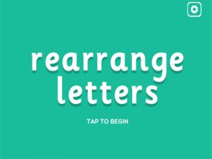 el interactive anagrams game