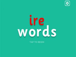 ire interactive anagrams game