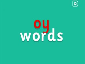 oy interactive anagrams game