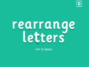 ure interactive anagrams game