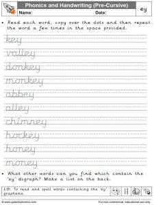 ey handwriting