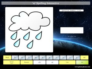 ai interactive phonics spelling game