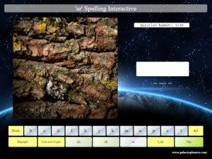 interactive ar phonics spelling game