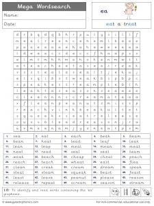 ea mega wordsearch worksheet