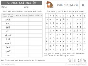 ll read and spell worksheet (1)