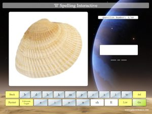 ll online interactive spelling game