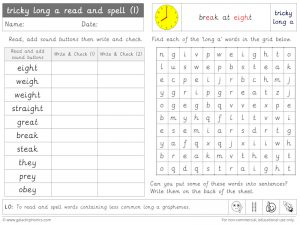tricky long a read and spell worksheet (1)
