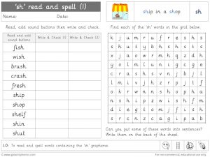 sh read and spell worksheet (1)